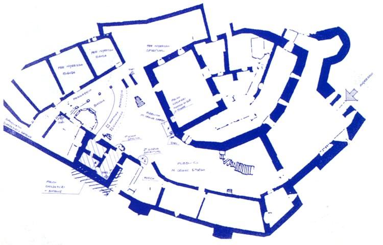 Piantina Castel Romano