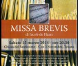 MISSA BREVIS di Jacob de Haan, TRENTO