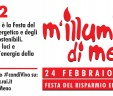 24 febbraio 2017 la Banda aderisce alla tredicesima edizione di M'illumino di Meno