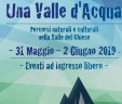 """sabato 1 giugno 2019. Centrale di Cimego, evento """"Una valle d'acqua"""""""