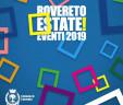 mercoledì 17 luglio 2019. La Banda in concerto a Rovereto (TN)  per ROVERETO ESTATE MUSICA