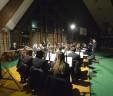 mercoledì 25 dicembre 2019. Banda e allievi della bandina alla 36° edizione del Concerto d'inverno